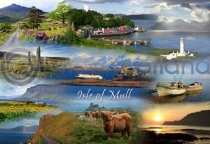 Isle of Mull Fusion Postcard (H A6 LY)