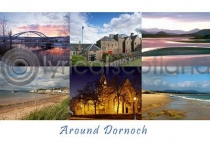 Around Dornoch Composite Postcard (H A6 LY)