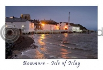 Islay - Bowmore - Isle Of Islay Postcard (HA6)