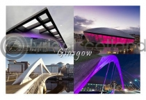 Glasgow Composite 4 Hydro Postcard (H A6 LY)