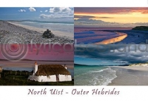 North Uist - North Uist Outer Hebrides Postcard (HA6)