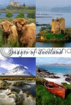 Images of Scotland Composite Postcard (VA6)