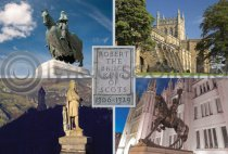 Robert the Bruce Composite Postcard (H A6 LY)